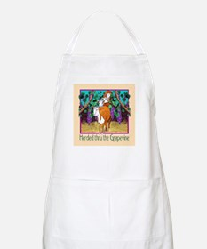 """""""HERDED THRU THE GRAPEVINE"""" Apron"""
