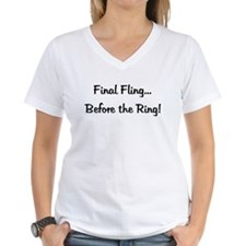 Final Fling... Before the Ring! Shirt