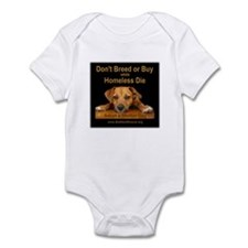 Adopt a Shelter Dog Infant Bodysuit