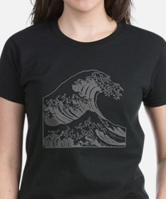The Great Wave (Grey) Tee