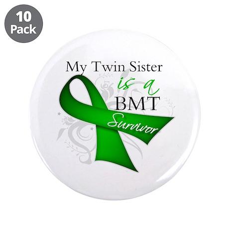 """Twin Sister BMT Survivor 3.5"""" Button (10 pack)"""