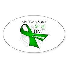 Twin Sister BMT Survivor Decal