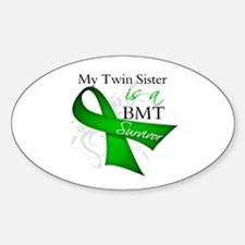 Twin Sister BMT Survivor Decal