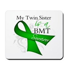 Twin Sister BMT Survivor Mousepad