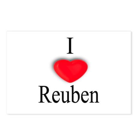 Reuben Postcards (Package of 8)