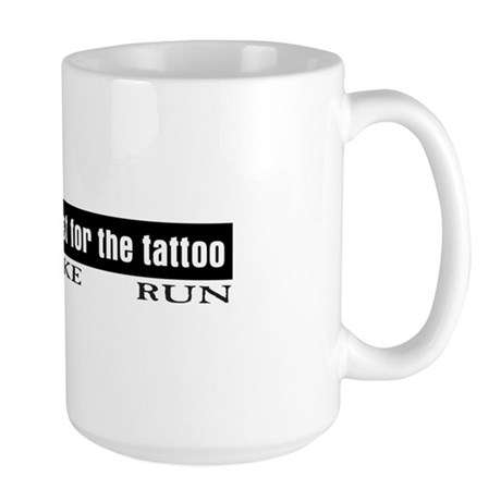 """Tattoo"" Large Mug"