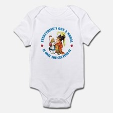 EVERYTHING'S GOT A MORAL Infant Bodysuit