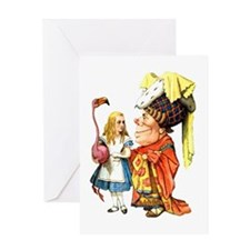 ALICE & THE DUCHESS Greeting Card