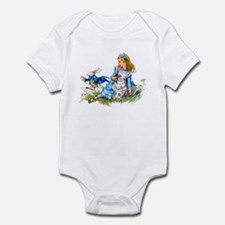 WHITE RABBIT - FOLLOW ME Infant Bodysuit