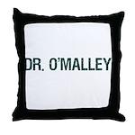 Dr O'Malley, Irish Throw Pillow
