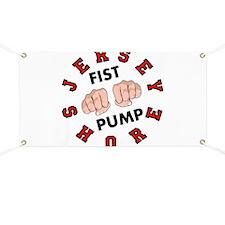 Jersey Shore Fist Pump Banner
