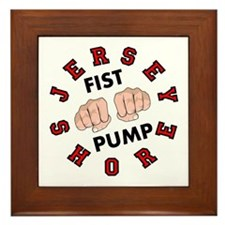 Jersey Shore Fist Pump Framed Tile