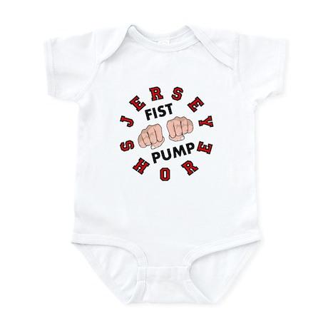 Jersey Shore Fist Pump Infant Bodysuit