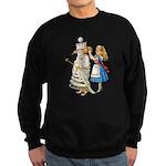 ALICE & THE WHITE QUEEN Sweatshirt (dark)