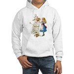 ALICE & THE WHITE QUEEN Hooded Sweatshirt