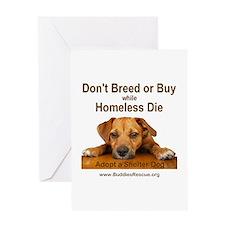 Adopt a Shelter Dog Greeting Card