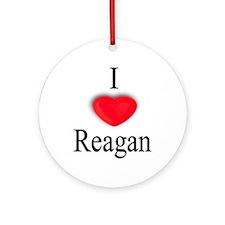 Reagan Ornament (Round)