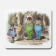 Tweedledum and Tweedledee Mousepad