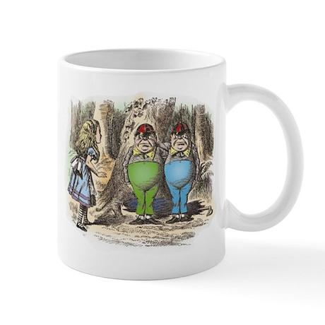 Tweedledum and Tweedledee Mug