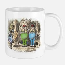 Tweedledum and Tweedledee Small Mugs