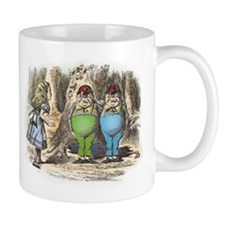 Tweedledum and Tweedledee Small Mugs