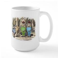 Tweedledum and Tweedledee Ceramic Mugs