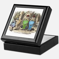 Tweedledum and Tweedledee Keepsake Box