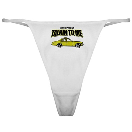 Movie Humor Taxi Driver Classic Thong