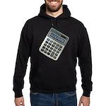 Humor Calculator Awesome Hoodie (dark)