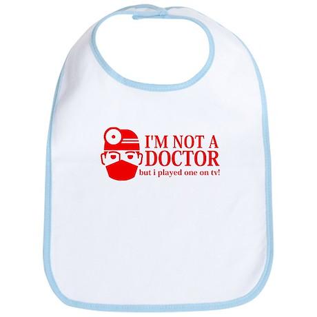 College Humor Play Doctor Bib