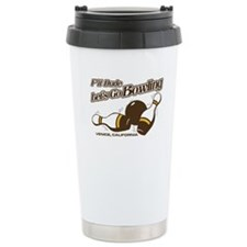 College Humor Bowling Travel Mug