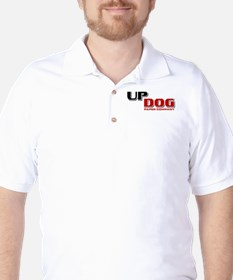 College Humor Up Dog Golf Shirt
