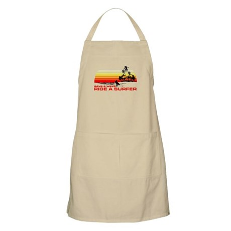 Save A Wave Ride A Surfer Apron