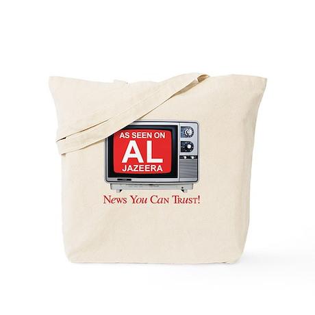 As seen on Al Jazeera Tote Bag