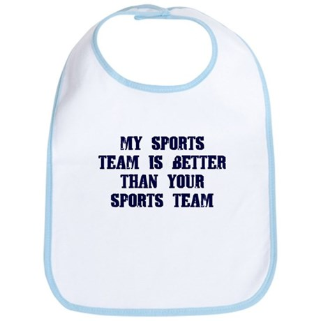 College Humor tees My Team Bib