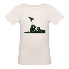 USA Soldiers Flag Organic Baby T-Shirt