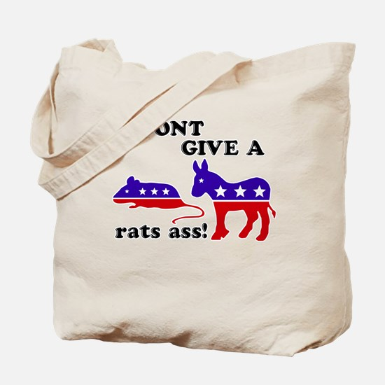 I Don't Give A Rats Ass Tote Bag