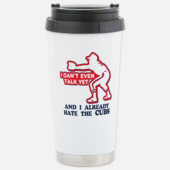 Baby Humor Anti Cubs Stainless Steel Travel Mug