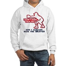 Baby Humor Anti Braves Hoodie