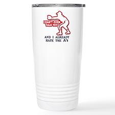 Baby Humor Anti Athletics Travel Mug
