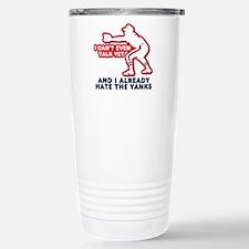 Hate the Yanks Stainless Steel Travel Mug