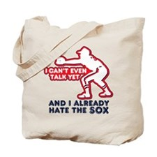 Hate the Red Sox Anti Tote Bag