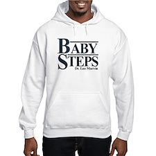 Baby Humor Baby Steps Hoodie
