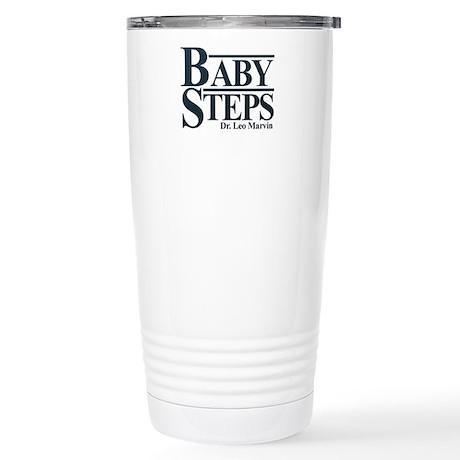 Baby Humor Baby Steps Stainless Steel Travel Mug