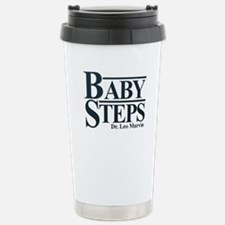 Baby Humor Baby Steps Stainless Steel Travel Mug