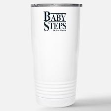Baby Humor Baby Steps Thermos Mug