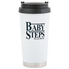 Baby Humor Baby Steps Travel Mug