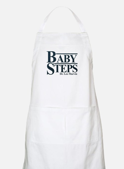 Baby Humor Baby Steps Apron