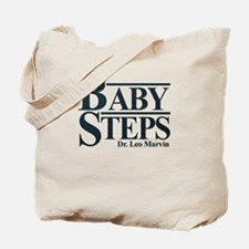 Baby Humor Baby Steps Tote Bag