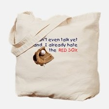 Baby Humor RedSox Hater Tote Bag